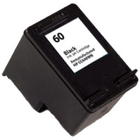 Black Inkjet Cartridge compatible with the HP (HP 60) CC640WN