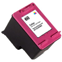Tri-color Inkjet Cartridge compatible with the HP (HP 60) CC643WN