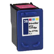 Tri-Color Inkjet Cartridge compatible with the HP (HP28) C8728AN